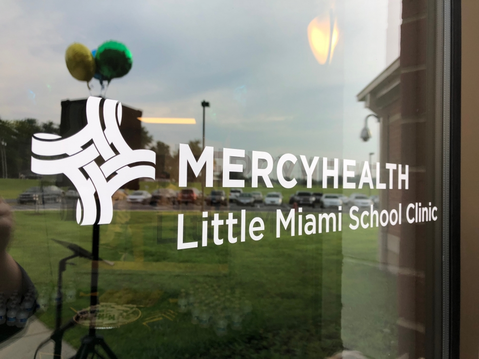 Photo of mercy clinic sign